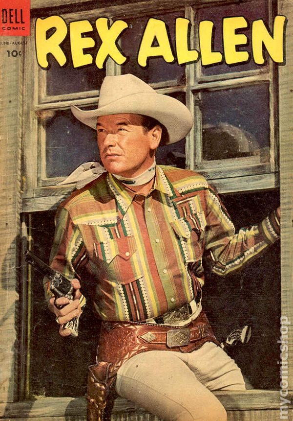 Rex Allen 1951 Comic Books