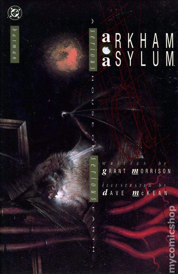 Bildergebnis für Arkham Asylum #1 okt 1989