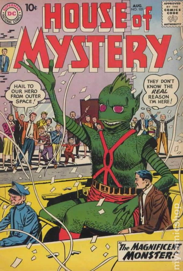 House Of Mystery (1951-1983 1st Series) Comic Books 1956-1960