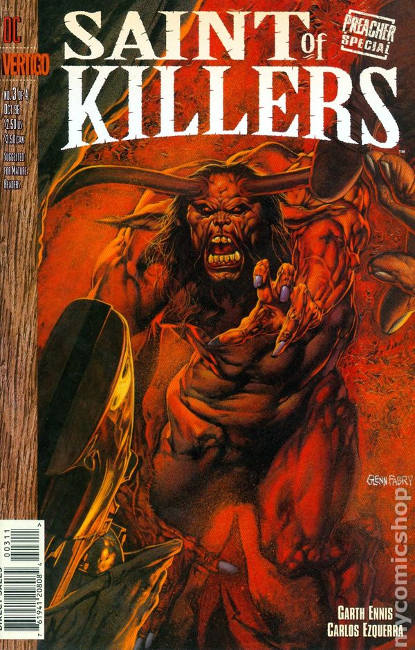 Preacher Special Saint of Killers #3