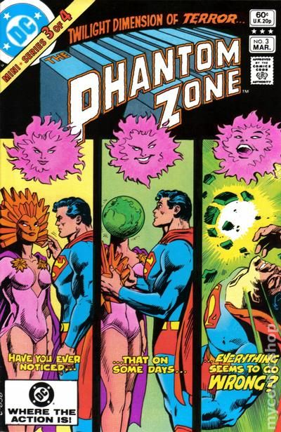 Phantom Zone 1982 Comic Books