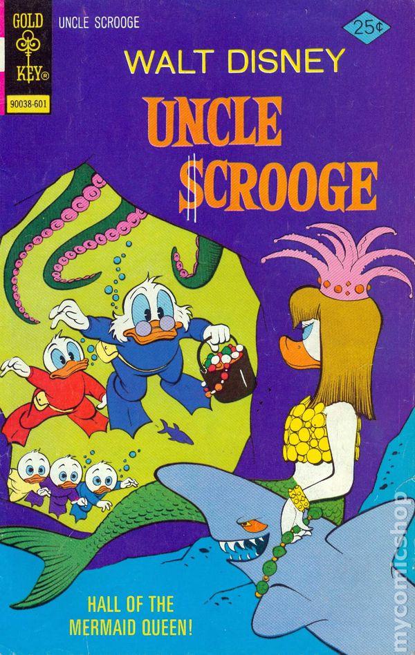Vintage Walt Disney/'s Uncle Scrooge November 1991 Issue #260 Carl Barks NM
