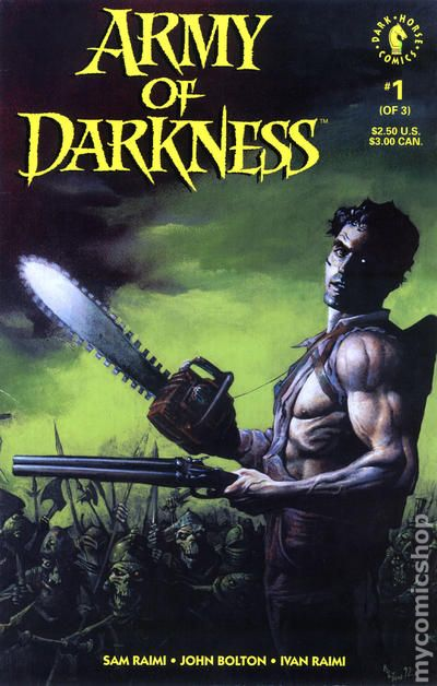 A To Z Auction >> Army of Darkness (1992 1st Series) comic books