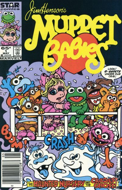 Muppet Babies 1985 1989 Marvel Star Comics Comic Books