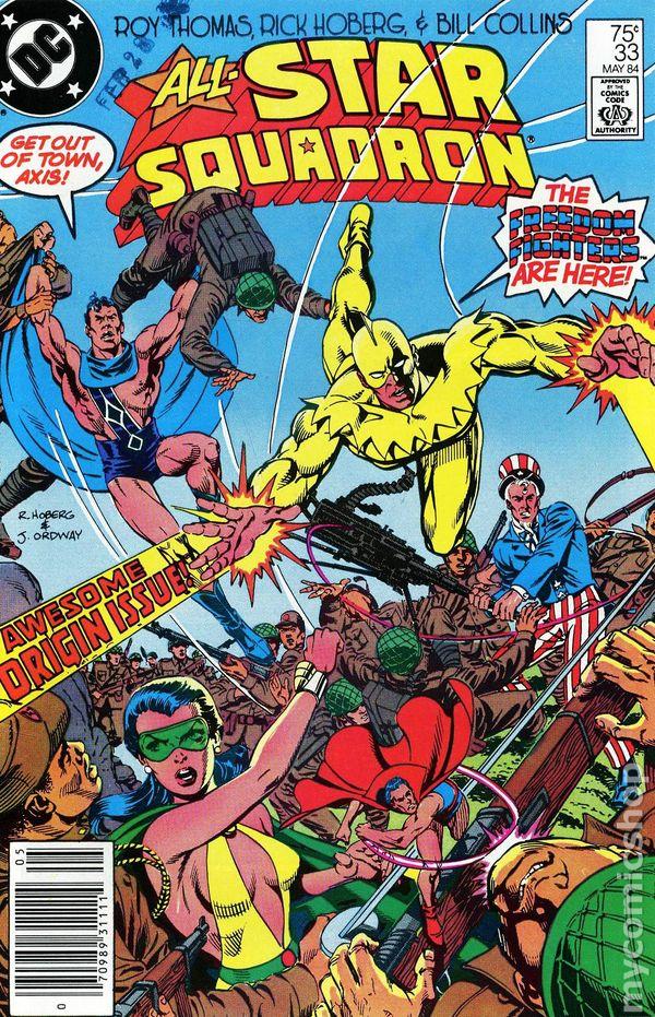 all star squadron  1981  comic books