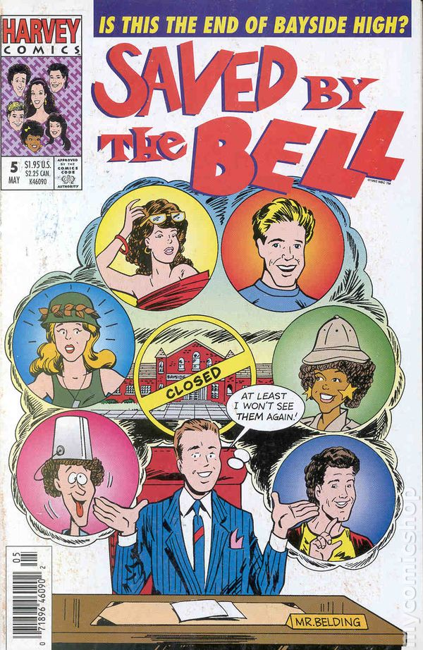 Saved By The Bell 1992 Harvey Comic Books