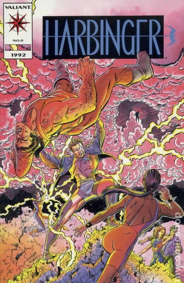Harbinger 1992 0A Comic books March 1993