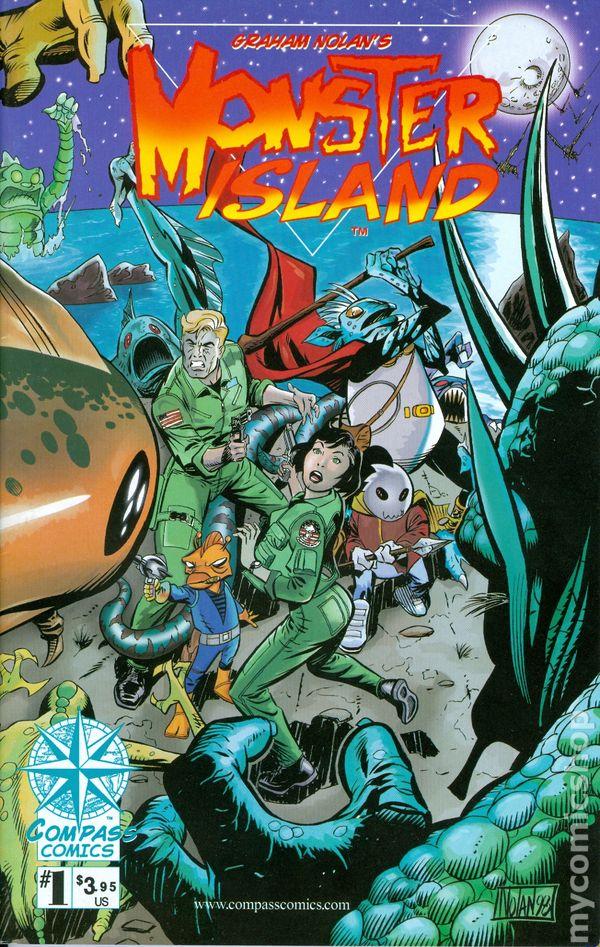 Monster Island (1998) Comic Books