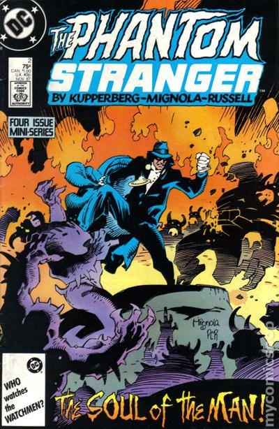 see pics Phantom Stranger set #1 to #4 8.0-1987