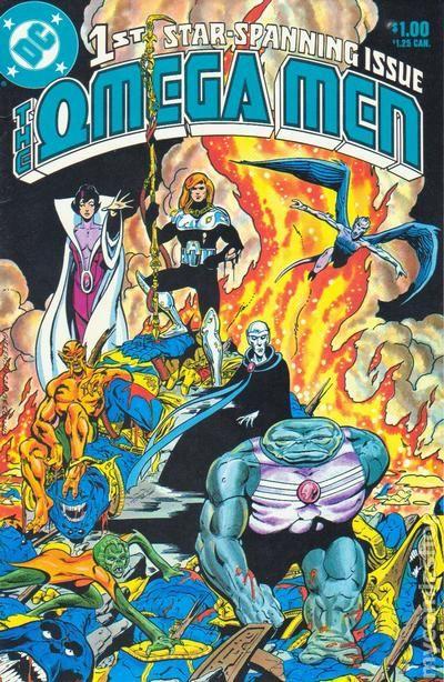 Omega Men 1983 1st Series Comic Books