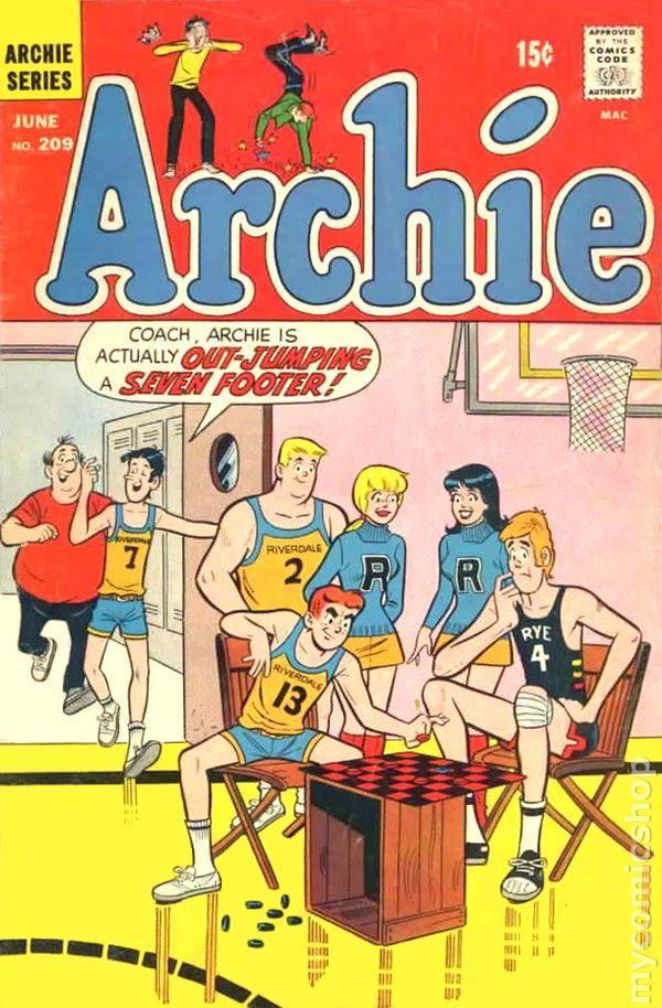 Archie Comic Books Issue 209