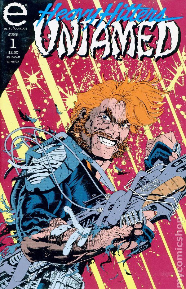Untamed 1993 Epic Comic Books