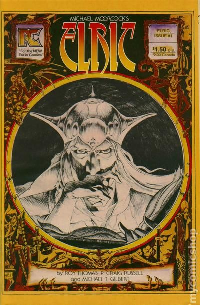 Elric #2 FN 1983 Stock Image