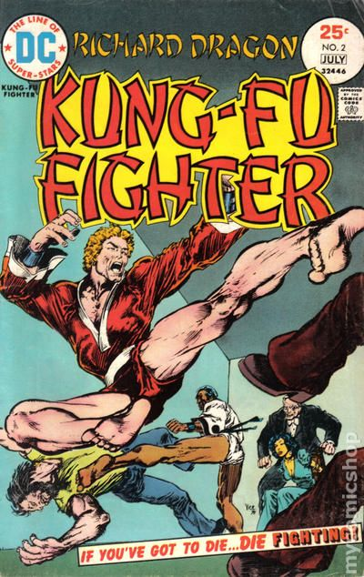 Matching In Colour Dc Comics Richard Dragon Kung Fu Fighter #1 1st Issue Collectibles
