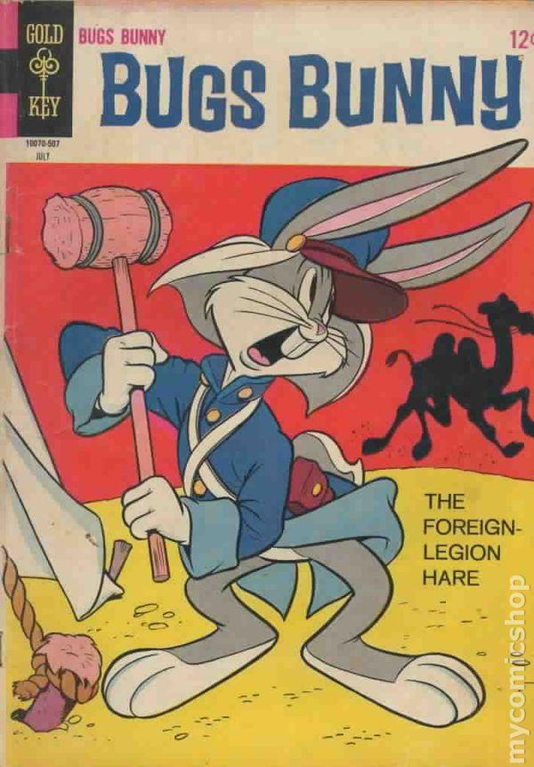 Bugs Bunny #100 GD//VG 3.0 1965 Stock Image Low Grade