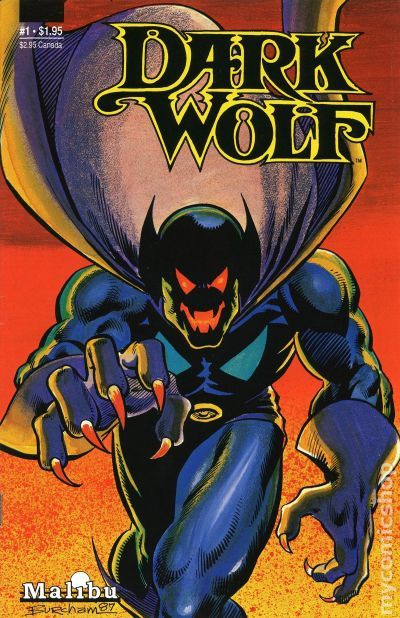 Dark Wolf (1987 Malibu) comic books