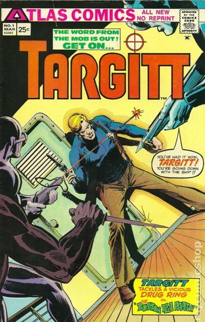 Targitt 1975 Atlas Comic Books