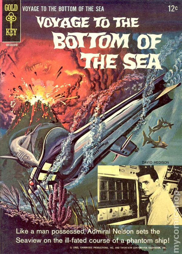 Voyage To The Bottom Of The Sea 1964 Comic Books