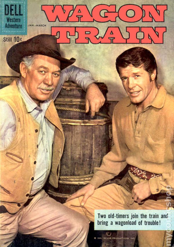 Image result for wagon train comic book