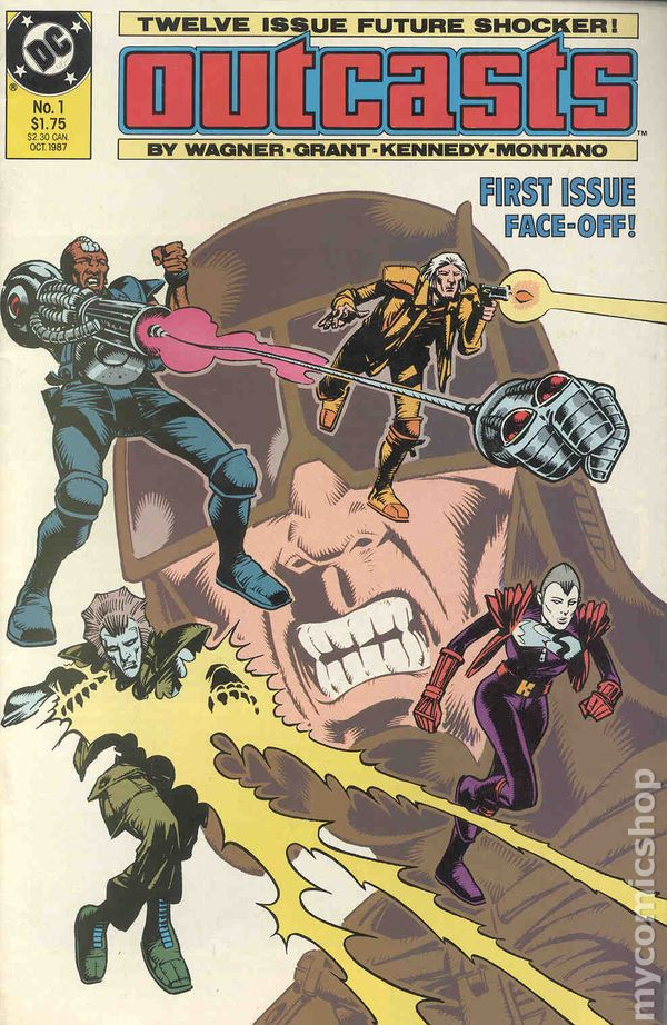 Outcasts (1987) comic books