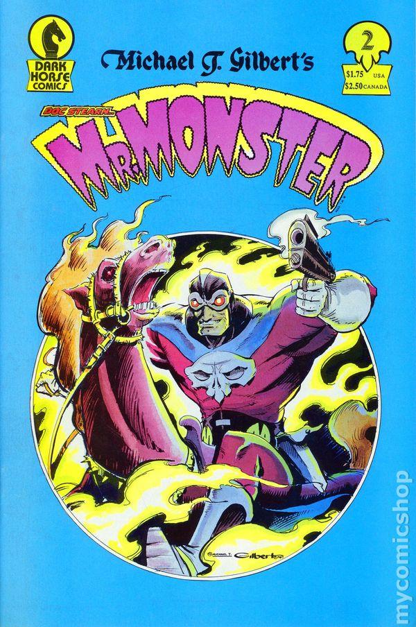 Mr Monster 1988 Dark Horse Comic Books