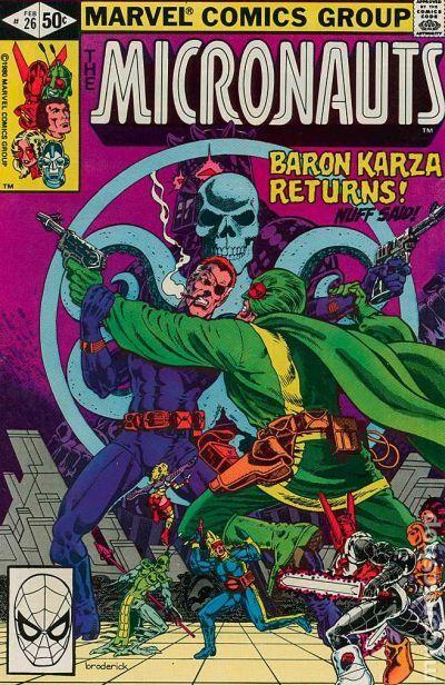 Micronauts comic books issue 26