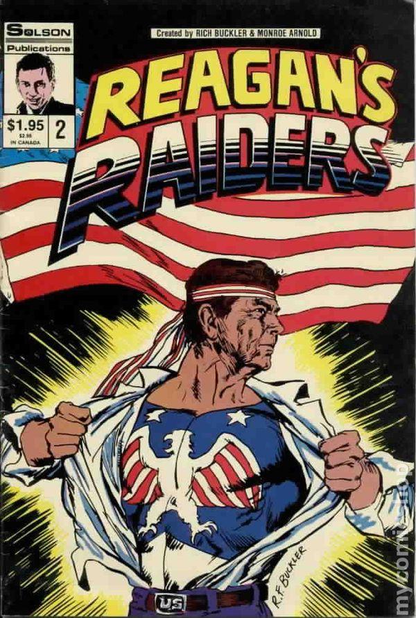 Reagan S Raiders 1986 Comic Books
