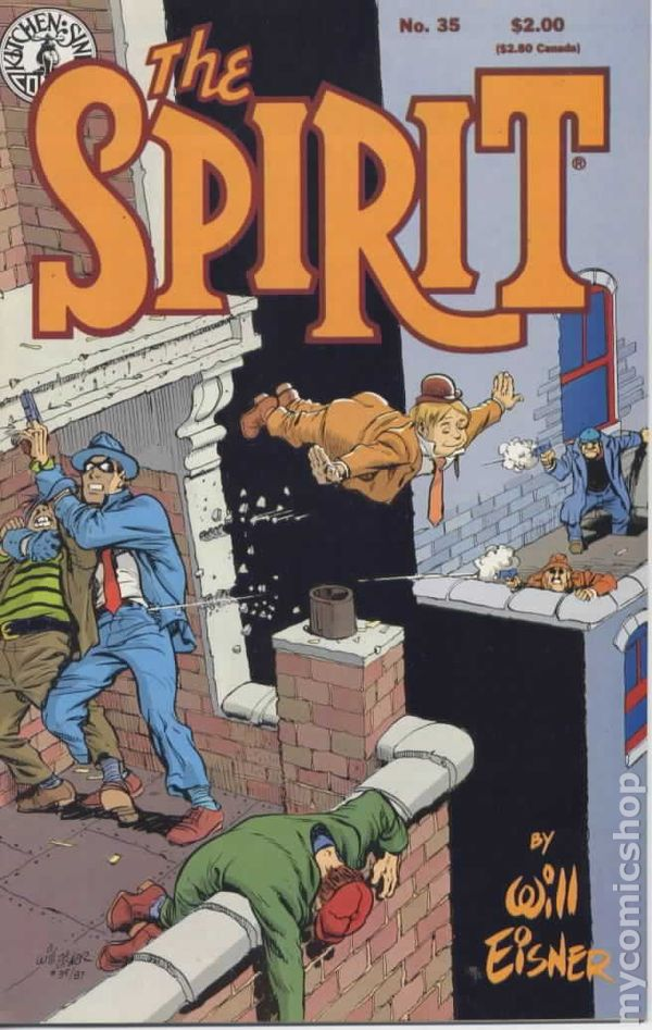kitchen sink comics spirit 1983 kitchen sink comic books 2631