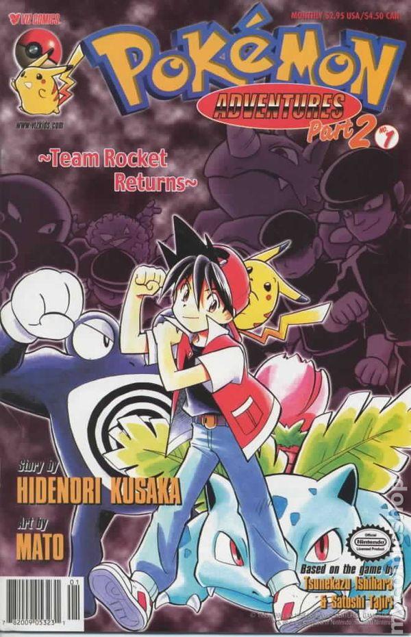 pokemon adventures part 2  1999  comic books