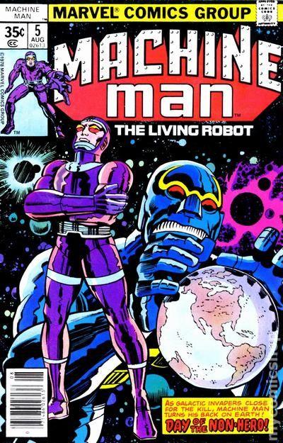 Machine Man U-PICK ONE #2,3,4,5,6,7 or 8 Marvel 1978 Bronze Age PRICED PER COMIC