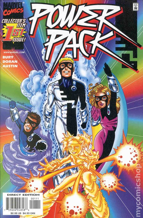 Image result for power pack comic 2000