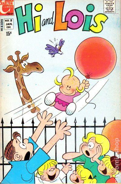 HI og Lois 1969 Tegneserier-5501