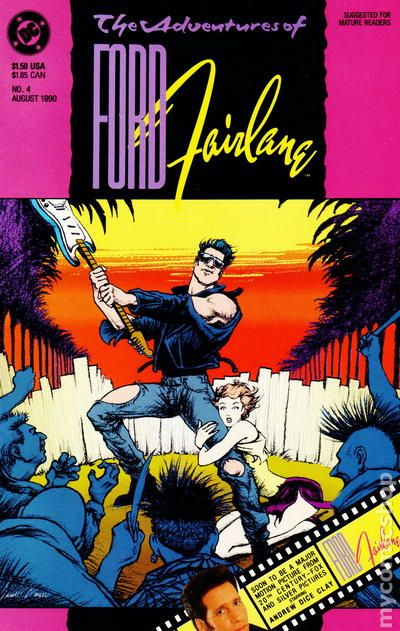 adventures of ford fairlane 1990 comic books. Cars Review. Best American Auto & Cars Review