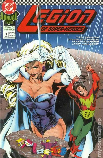 Legion Of Super Heroes Comic Issue 306 Bronze Age First: Legion Of Super-Heroes (1989) Annual Comic Books