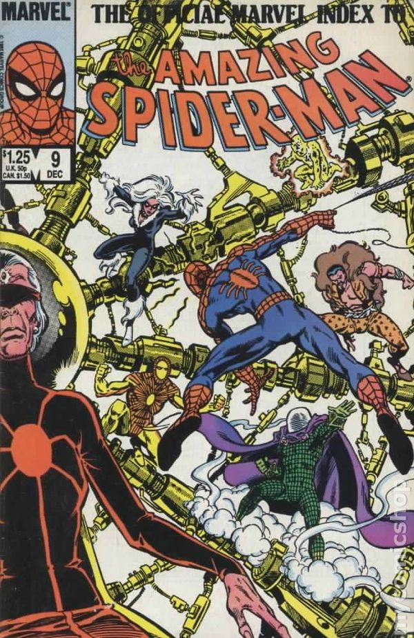 Official Marvel Index to Amazing Spider-Man (1985) comic books