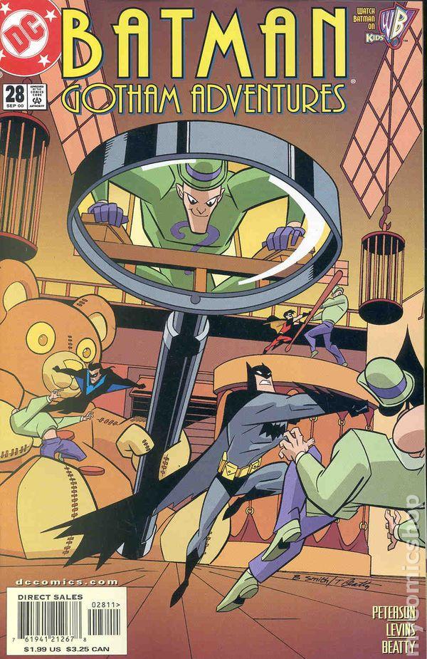 1998 SERIES BATMAN GOTHAM ADVENTURES #47 NEAR MINT