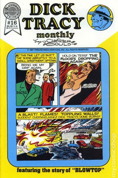 Dick Tracy Monthly//Weekly #20 1987 FN Stock Image