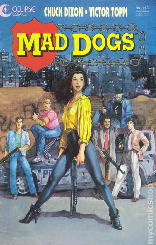 Taking Back Streets >> Mad Dogs (1992) comic books