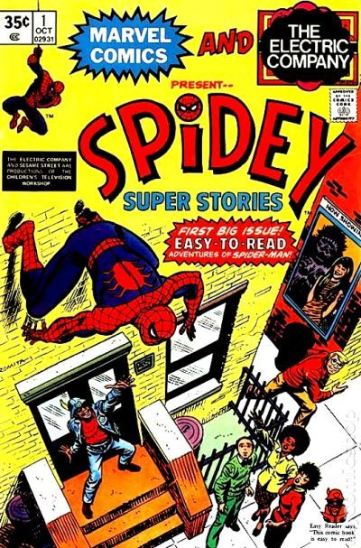 Spidey Super Stories 1974 Comic Books