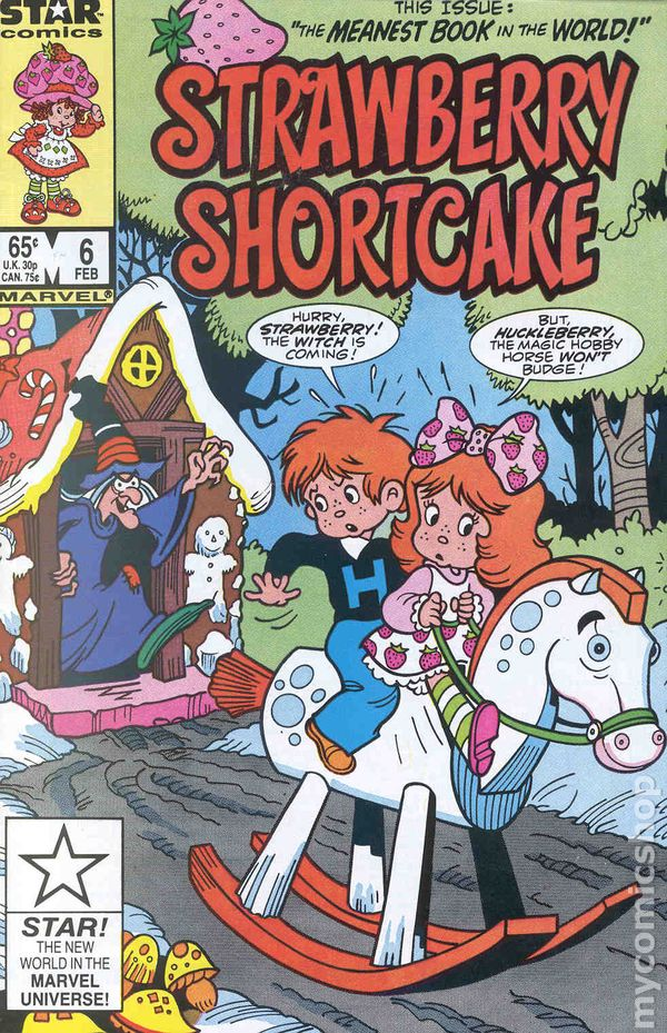 Strawberry Shortcake 1985 Marvel Star Comics Comic Books