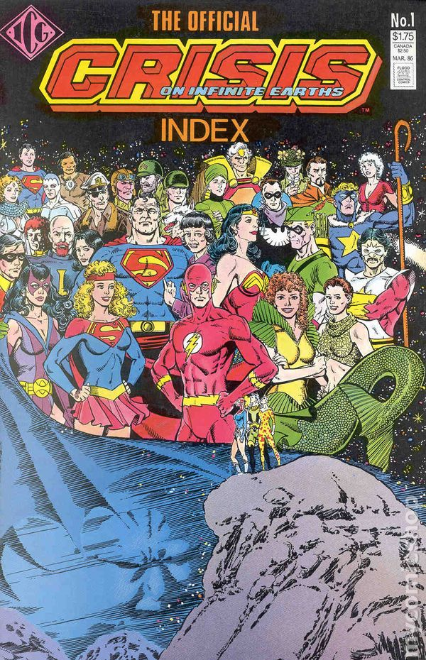 Comic Books In Crisis On Infinite Earths