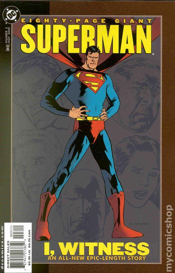 Superman 80 Page Giant 1999 Comic Books