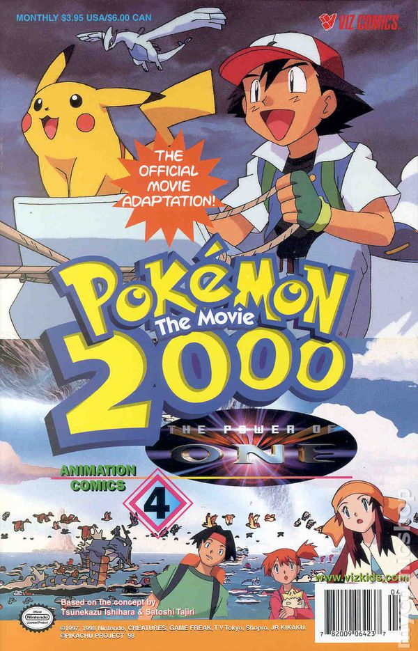 Pokemon The Movie 2000 The Power Of One 2000 Comic Books