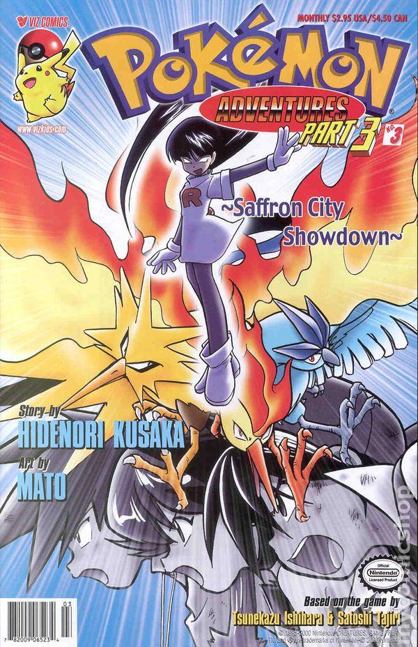Pokemon Adventures Part 3 2000 comic books