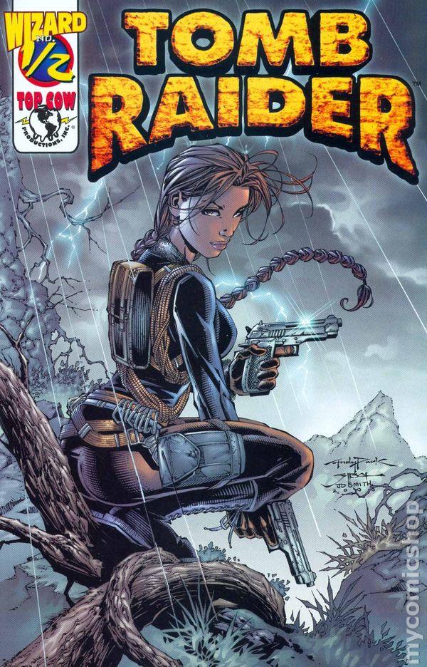 Tomb Raider 2000 Wizard 1 2 Comic Books