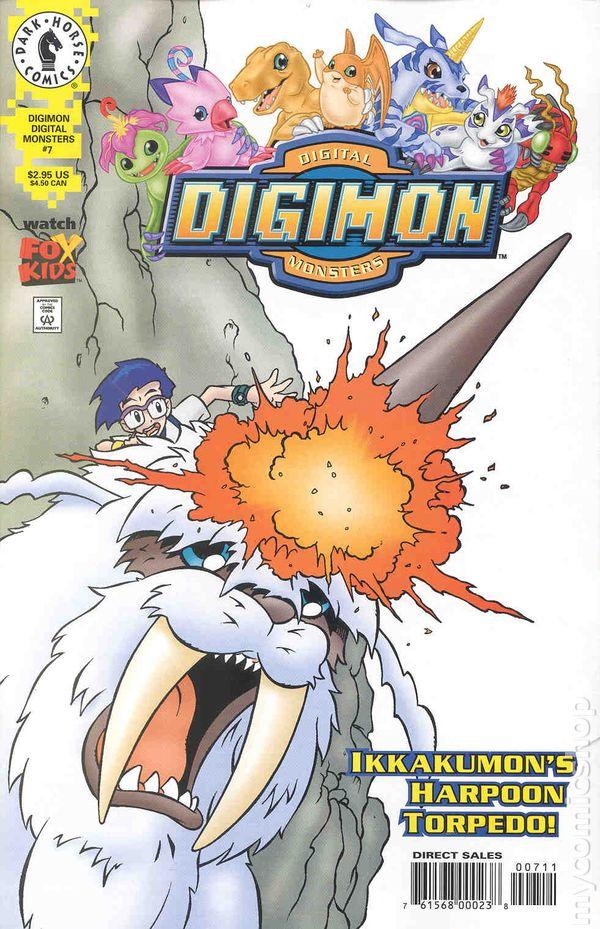 Digimon 2000 Comic Books