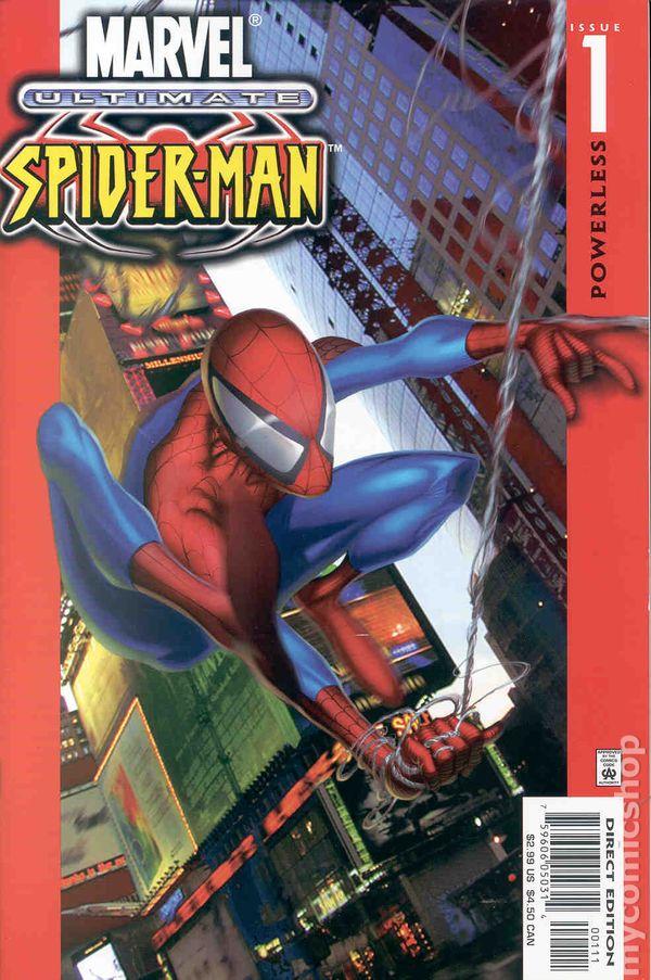 Ultimate Spider Man 2000 Comic Books