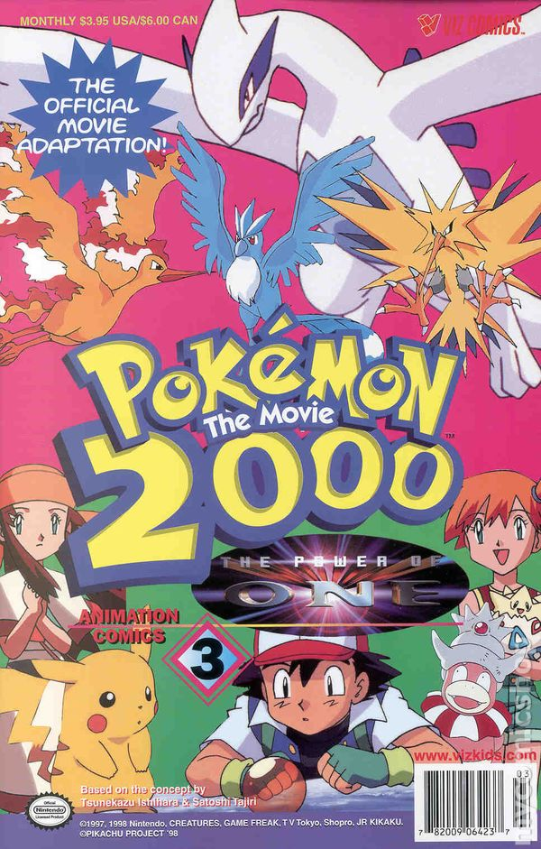 Pokemon The Movie 2000 The Power Of One 2000 3