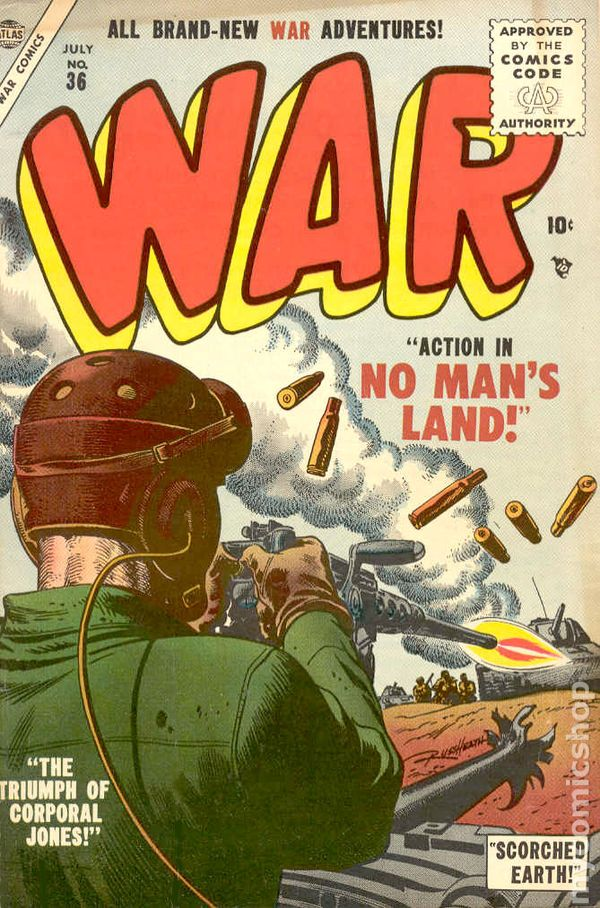 War Comics (1950 Atlas) comic books