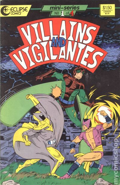 Villains and Vigilantes (1986) comic books